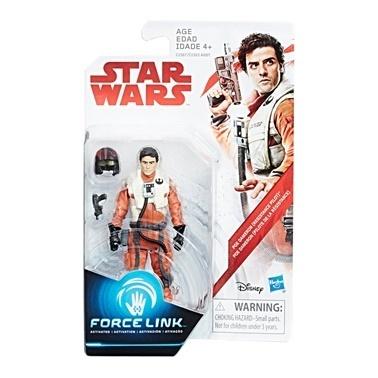 Star Wars Star Wars Force Link Figür Seri Poe Dameron Renkli
